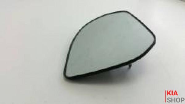 Зеркальный элемент ,вкладыш Kia Rio