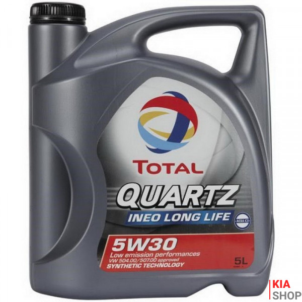 Моторное масло Total QUARTZ INEO LONG LIFE 5W-30 синтетика  5 л.