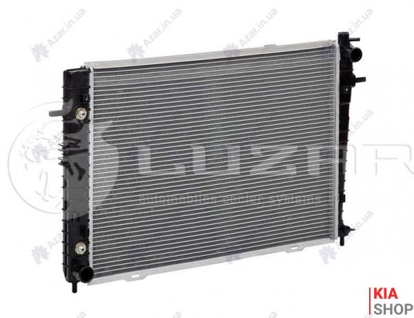 Радиатор охлаждения Tucson/Sportage (04-) 2.0 CRDI АКПП/МКПП (алюм)  Luzar