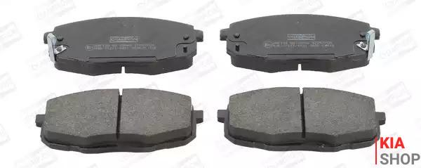 Колодки тормозные дисковые передние CEED/I30 (R24003) TANGUN