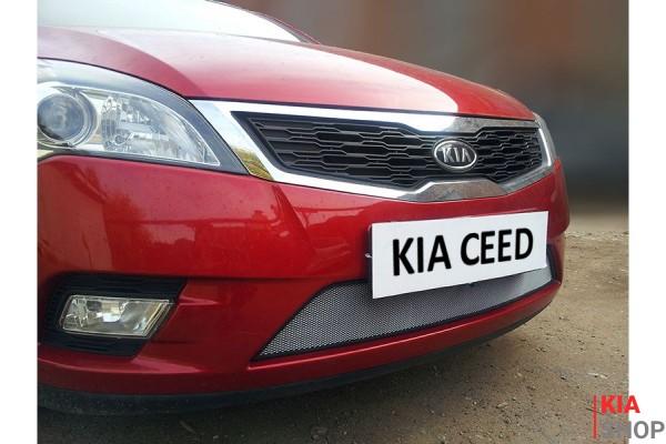 Защита Радиатора KIA CEED I Рестайлинг Chrome