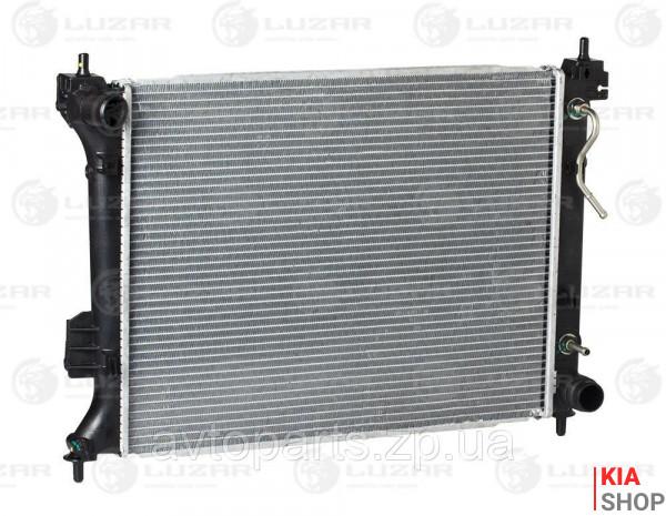 Радиатор охлаждения Soul 1.6 (09-) АКПП  Luzar