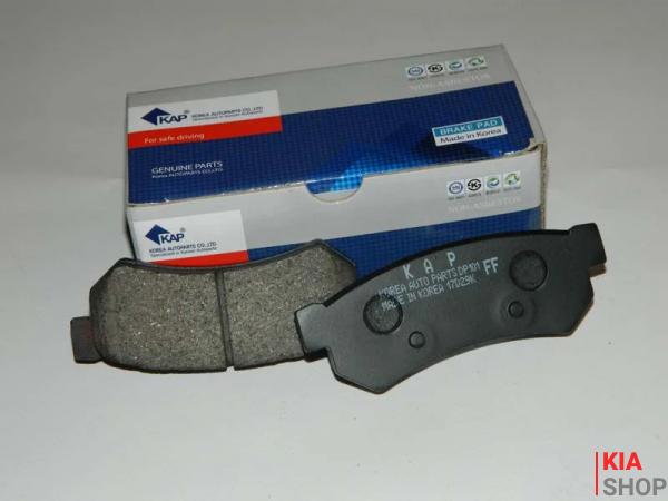 Колодка тормозная передняя (58101-3ED00) Kia Sorento (02-) E9 (KAP-E9-PK20) KAP