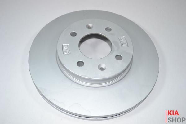 Диск тормозной передн 51712-1G000 Hyundai Accent (05-), i20 (09-)/Kia Rio (05-) (51712-1G000) KAP
