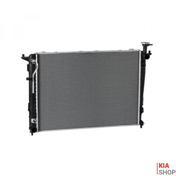 Радиатор охлаждения Sorento/Santa fe 2.4/3.5 (09-) АКПП Luzar