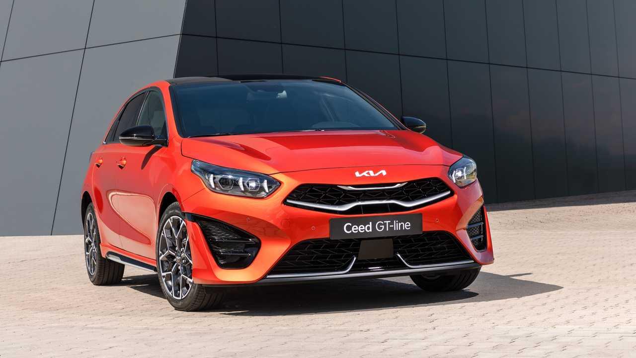 Выпущено первое официальное изображение Kia Ceed Facelift 2022 года
