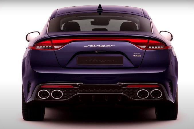 Kia Stinger 2022 года дебютирует в США со свежим лицом и большей мощностью